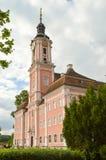 Взгляд базилики Birnau в Uhldingen Стоковые Фотографии RF