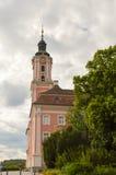 Взгляд базилики Birnau в Uhldingen Стоковое Фото