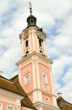 Взгляд базилики Birnau в Uhldingen Стоковые Фото
