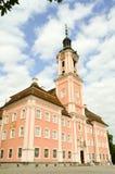 Взгляд базилики Birnau в Uhldingen Стоковое фото RF