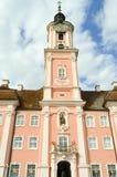 Взгляд базилики Birnau в Uhldingn Стоковое Фото