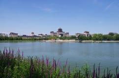 Взгляд бассейна lianhuachi Стоковое фото RF