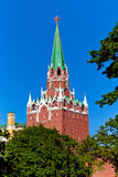 Взгляд башни Кремля Стоковые Фото
