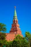 Взгляд башни Кремля Стоковое Изображение RF