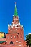 Взгляд башни Кремля Стоковые Изображения RF