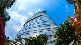 Взгляд башни Bitexco финансовой Стоковые Фото