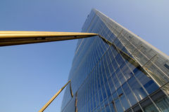 Взгляд башни Isozaki на Citylife; Милан Стоковые Изображения