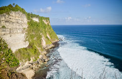 Взгляд балийского виска моря Стоковое фото RF
