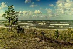 Взгляд Балтийского моря Стоковые Изображения