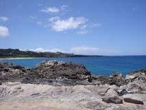 Взгляд бечевника Мауи Стоковые Фото
