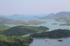 Взгляд бочки Tai kung Гонконга sai Стоковая Фотография RF