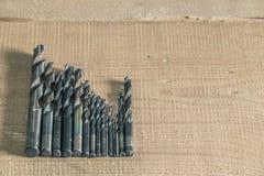 Взгляд буровых наконечников стоковые изображения rf