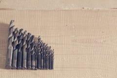 Взгляд буровых наконечников стоковая фотография