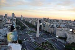 Взгляд Буэноса-Айрес, Аргентины, восемнадцатого из февраля 2017 стоковые изображения