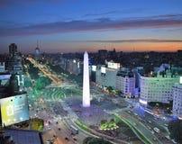 Взгляд Буэноса-Айрес, Аргентины, восемнадцатого из февраля 2017 стоковые фотографии rf