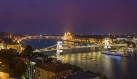 Взгляд Будапешта панорамный Стоковые Фото