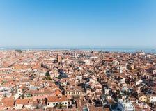 Взгляд венецианского острова сверху Стоковое Изображение RF