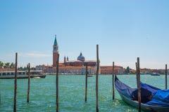 Взгляд Венеции от моря Стоковое Фото