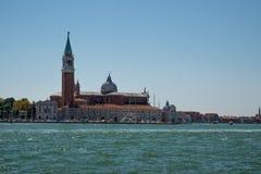 Взгляд Венеции от моря Стоковое Изображение