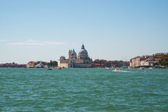 Взгляд Венеции от моря Стоковые Изображения