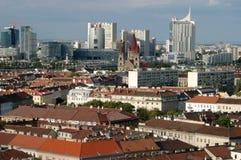 Взгляд вены прошлый и будущий - Австрия Стоковые Изображения RF