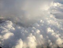 Взгляд верхней границы облаков земли Стоковое Изображение