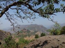 Взгляд вершины холма Стоковое Фото