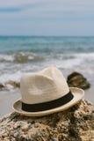 взгляд взморья patmos острова дня солнечный Стоковые Изображения RF