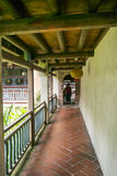 Взгляд визирования особняка и сада семьи Lin Бен-юаней внутренний, взгляд детали монастыря Стоковое Изображение