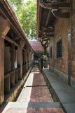 Взгляд визирования особняка и сада семьи Lin Бен-юаней внутренний, взгляд детали монастыря Стоковая Фотография RF