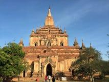 Взгляд виска в Bagan, Мьянме Стоковое фото RF