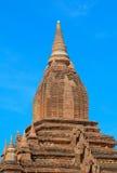 Взгляд висков Bagan, Мьянма Стоковые Фотографии RF