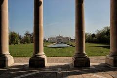Взгляд виллы Pisani, Stra, Италии стоковое изображение