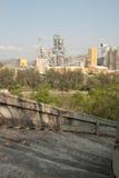 Взгляд вниз лестницы и фабрики Стоковые Фотографии RF