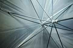 Взгляд внутри зонтика фотографии Стоковая Фотография RF
