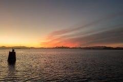 Взгляд восточного горизонта залива Стоковые Изображения
