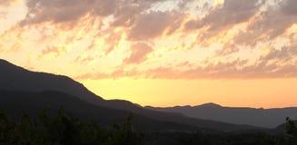 Взгляд восхода солнца Стоковое Изображение