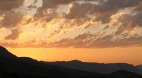 Взгляд восхода солнца Стоковая Фотография RF