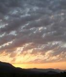 Взгляд восхода солнца Стоковая Фотография