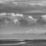 Взгляд Волги от холодного побережья Стоковые Фото