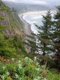 Взгляд воды скалы стоковое изображение