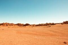 Взгляд вулкана Стоковое Изображение RF