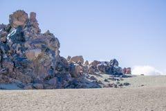 Взгляд вулкана Стоковое Изображение