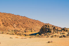 Взгляд вулкана Стоковые Фото