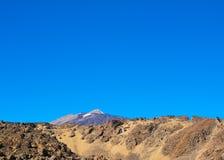 Взгляд вулкана Стоковые Фотографии RF