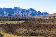 Взгляд вулкана Стоковые Изображения RF