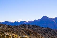 Взгляд вулкана Стоковое фото RF