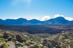 Взгляд вулкана Стоковое Фото