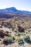 Взгляд вулкана Стоковые Изображения