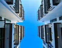 Взгляд высокого здания Стоковые Изображения